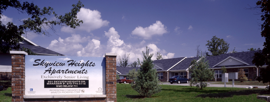 Skyview Heights Apartments, Waynesville, Mo.
