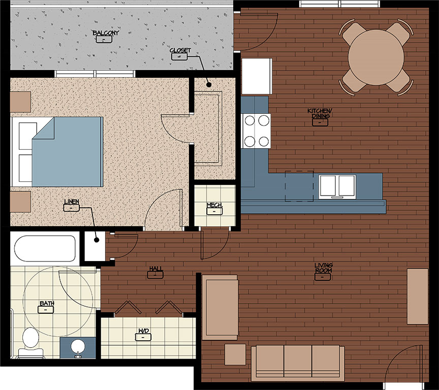 Hamilton Properties Corporation Floor Plans